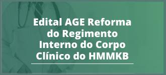Retificação de Edital de Convocação AGE Virtual - Reformulação do Regimento Interno HMMKB