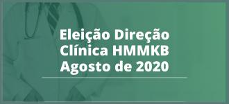Eleição da Direção Clínica do Hospital e Maternidade Marieta Konder Bornhausen - 08/2020